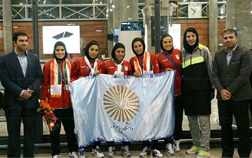دانشجویان فوتسال پیام نور در تیم ملی