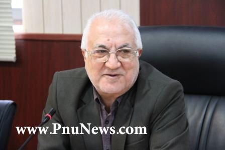 علی اصغر رستمی ابوسعیدی رئیس دانشگاه پیام نور