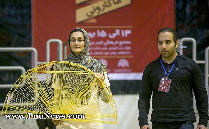 جشنواره سازه های ماکارونی دانشگاه پیام نور - کرمانشاه