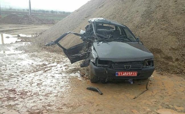رئیس دانشگاه پیام نور نهاوند تصادف کرد