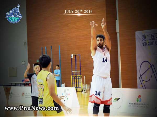 تیم بسکتبال 3 نفره پیام نور
