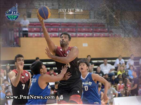 تیم بسکتبال دانشجویان پیام نور