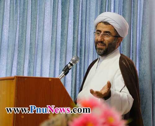 حجت السلام محمود شیخ الاسلام رئیس دانشگاه پیام نور مازندران