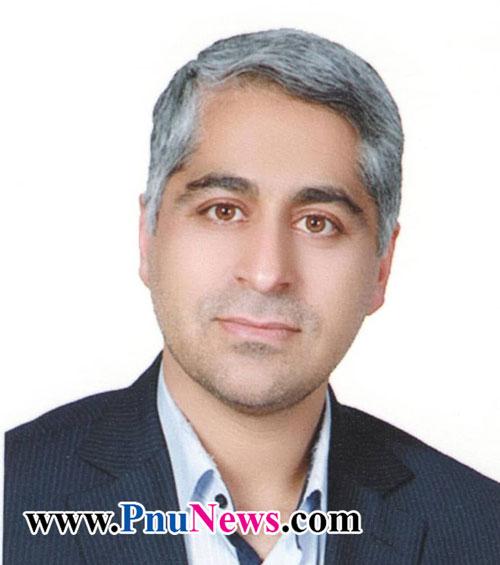 علیرضا محدثی زرندی رئیس دانشگاه پیام نور استان کرمان