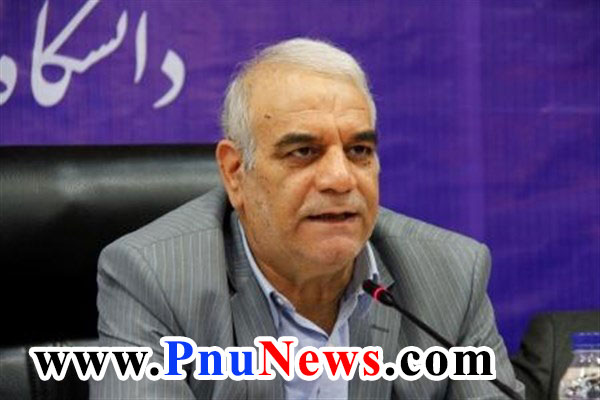 محمدرضا زمانی رئیس دانشگاه پیام نور