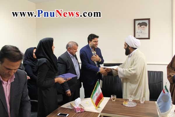 انتصاب رییس دانشگاه پیام نور اسلامشهر